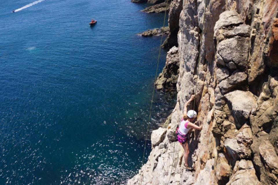 girl climb